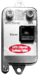 Ethernet and catv integrator which is passive and 10Mbps